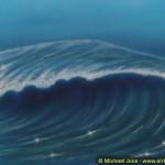 """Bild auf Keilrahmen """"Die Welle"""" (80x60 cm)"""