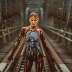 "Bodypainting ""Fashion-Portrait"""