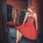 "Bodypainting ""50er Jahre Kleid"""